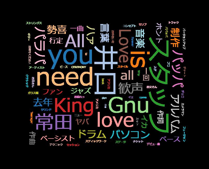 情熱大陸 King Gnu 音楽と愛が群れをなす実力派ロックバンド