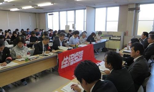 2019_1130 2019秋闘第2回団体交渉(やまなし県本部) (13)s