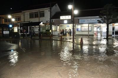 新見市大雨の被害