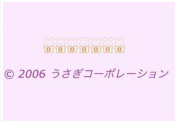 2019 1218 うさこカウンター