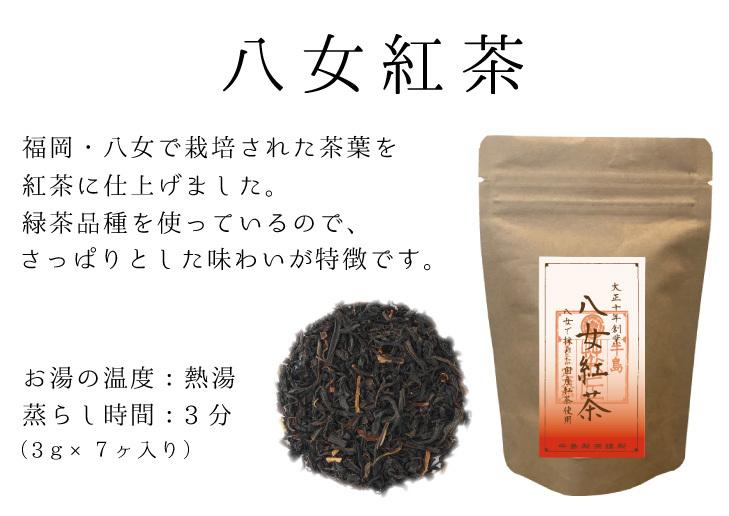 八女紅茶TB