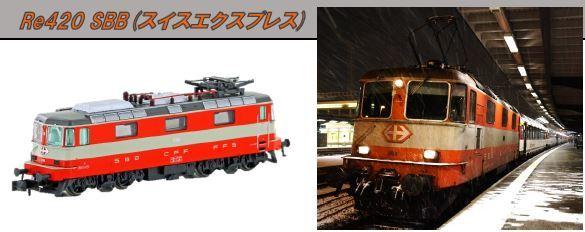SBBRe420スイス
