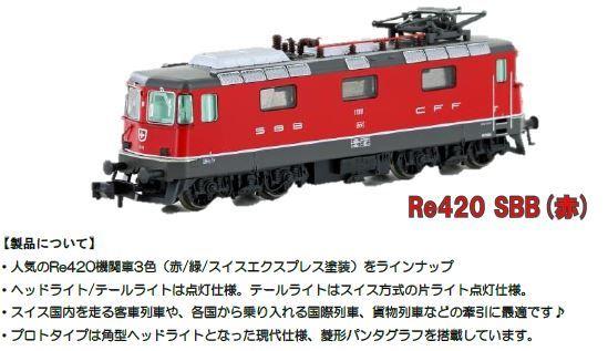 SBBRe420赤