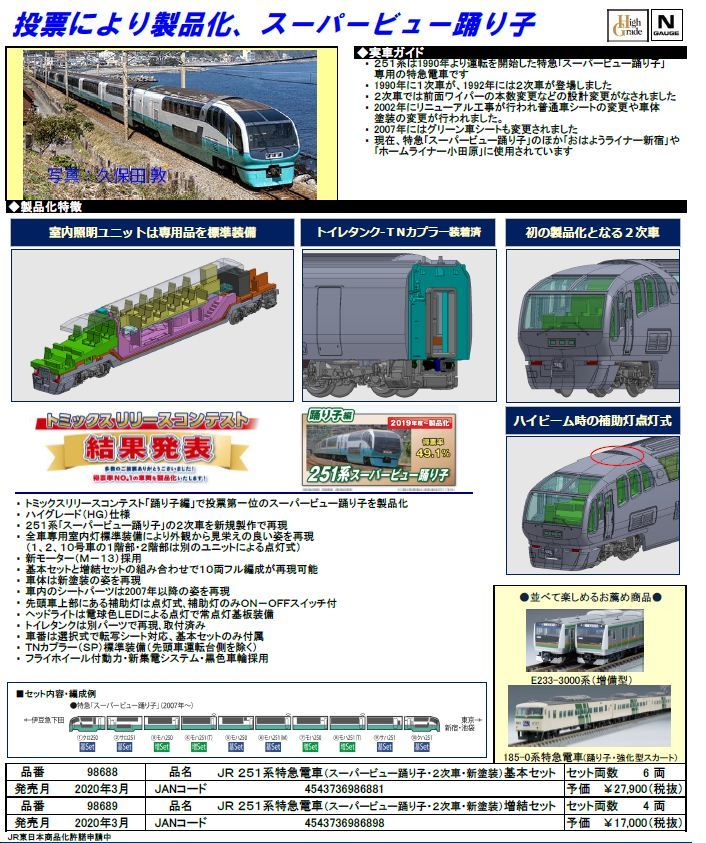TOMIX 201010発表