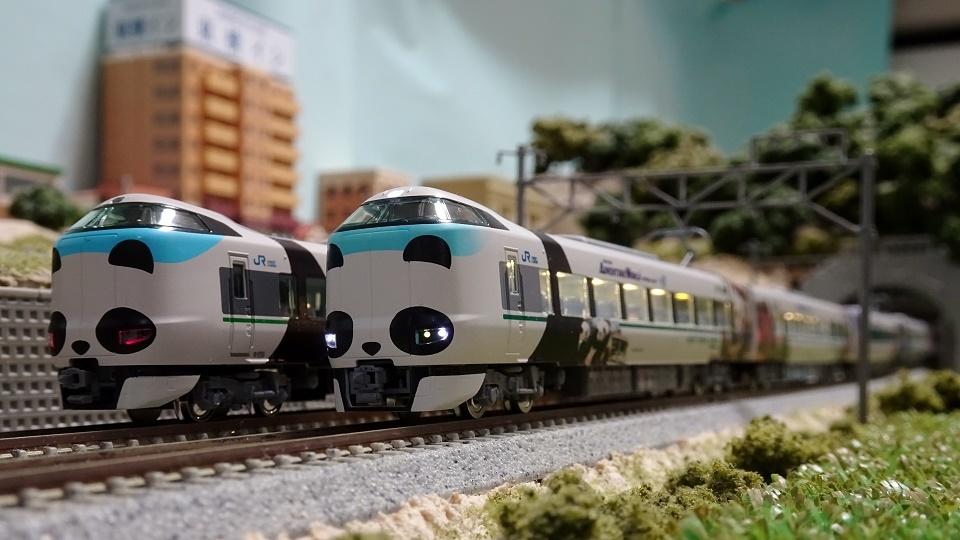 JR287系「パンダくろしお・Smileアドベンチャートレイン」
