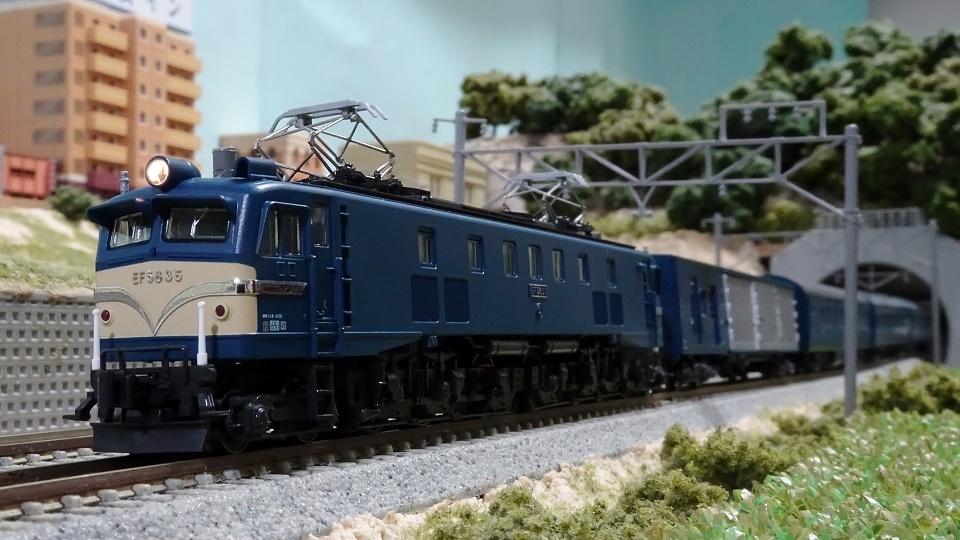 EF58 35 長岡運転所 & 10系寝台急行「能登」