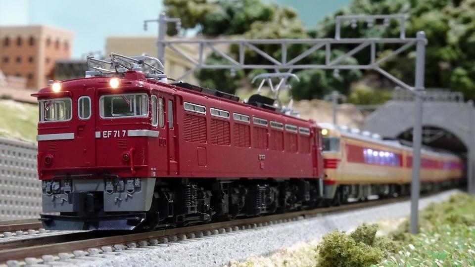 EF71 キハ181系「つばさ」