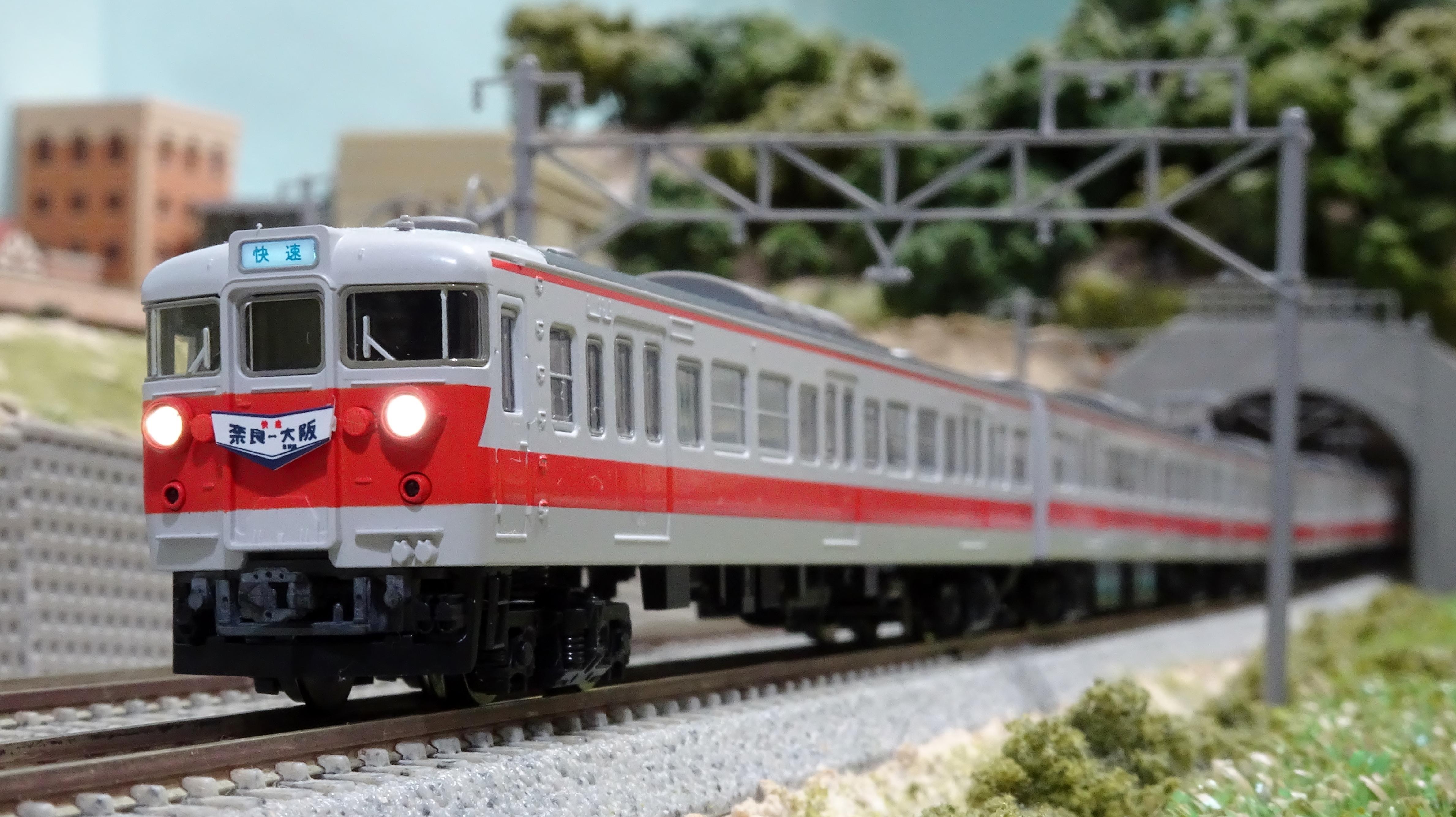 国鉄113系関西線快速色