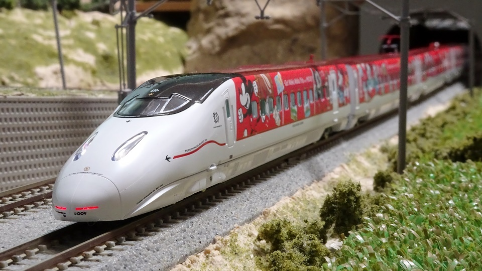 JR九州新幹線 ミッキーマウス