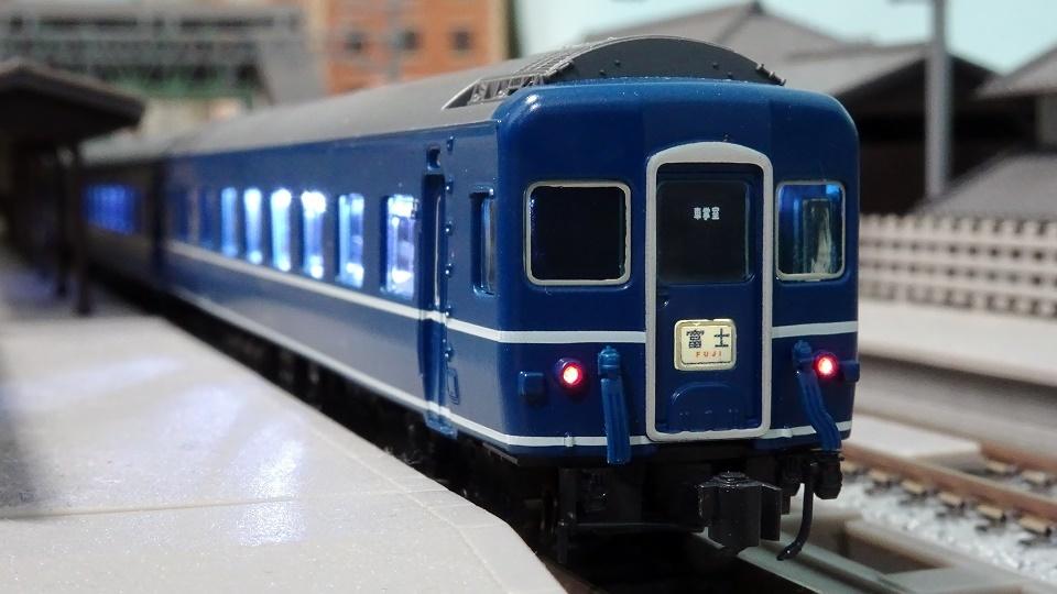 国鉄EF65-530 牽引機 24系24形 寝台特急「富士」