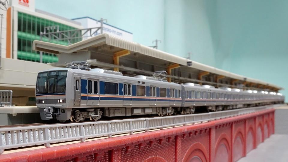 TOMIX JR 207-1000系通勤電車(新塗装)