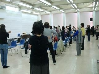 12月11日 ラジオ体操①