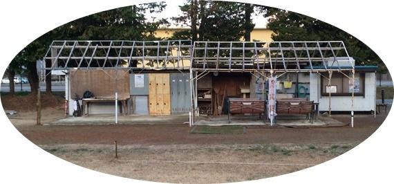 1 台風で消えたテント