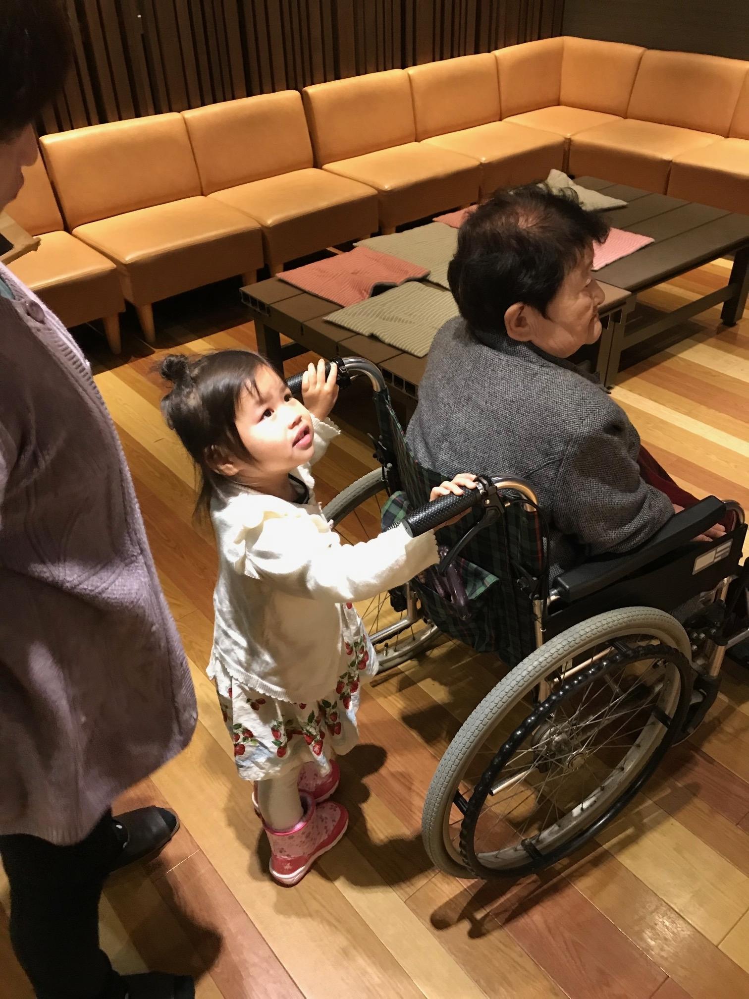 なっちゃん20200112車椅子