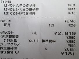 磯丸レシート2020.1