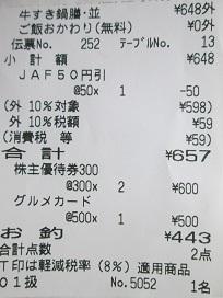 吉野家リシート2020.2