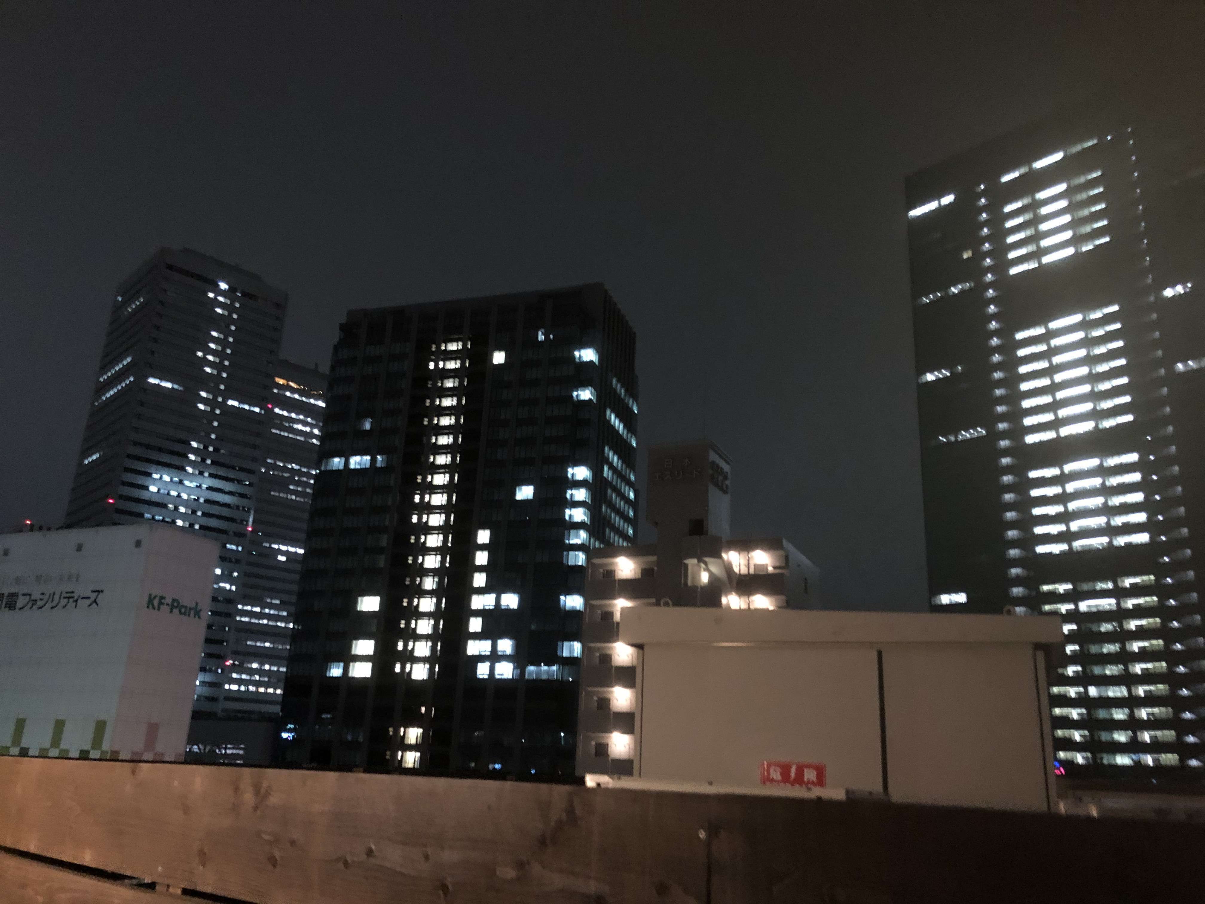 Takuto Stay Kyobashi Tsumiki ドミトリー_ホテル_5F夜景