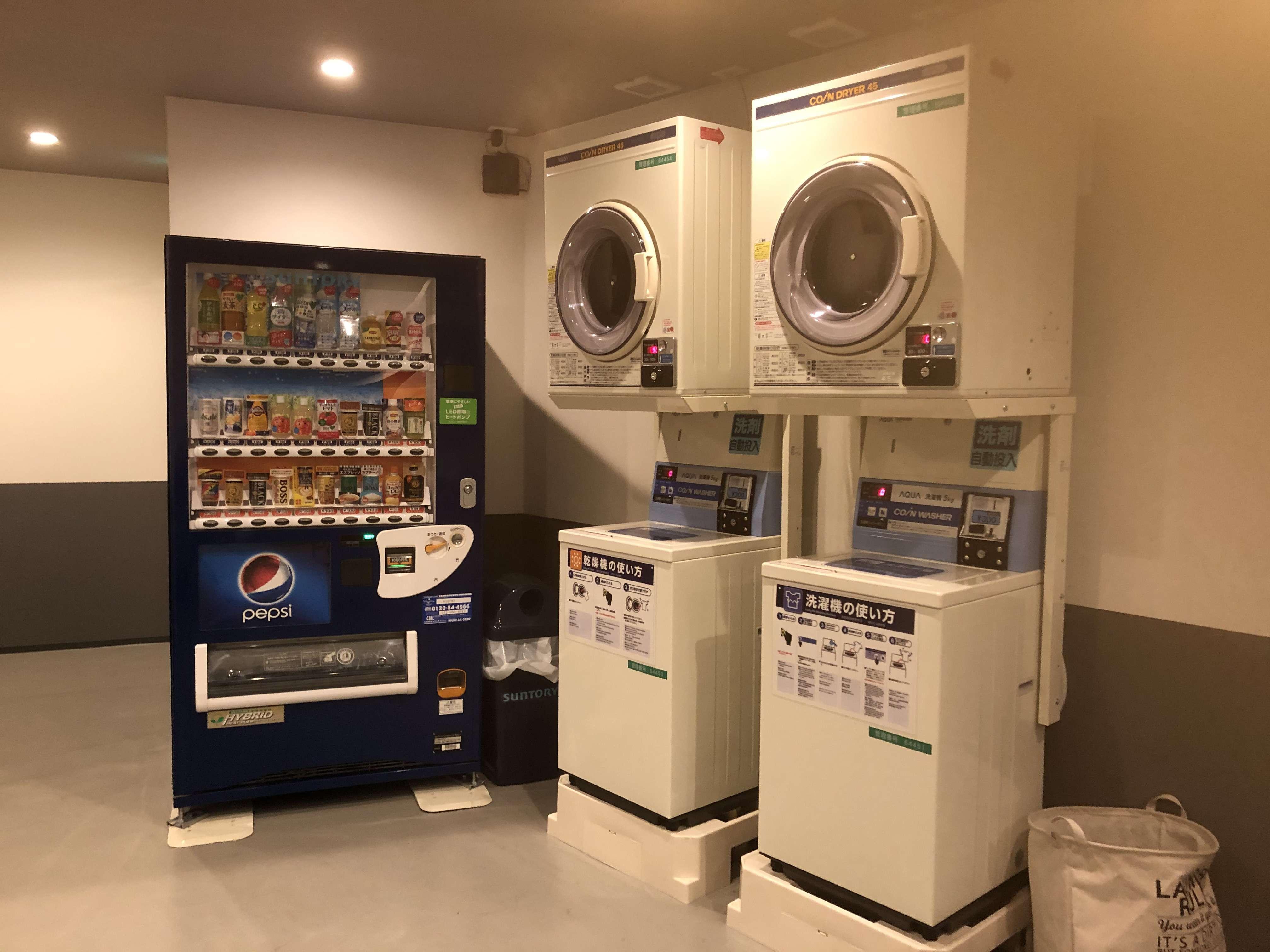Takuto Stay Kyobashi Tsumiki ドミトリー_ホテル_洗濯機・乾燥機