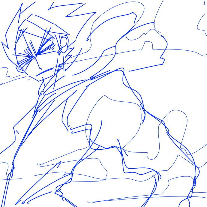105話より、雷竜八郎太郎と表紙のマタギ。 サムネイル画像