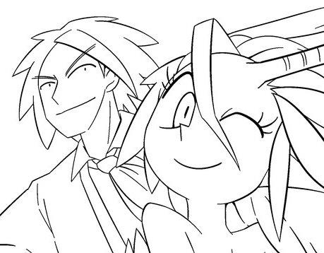 八郎と辰子