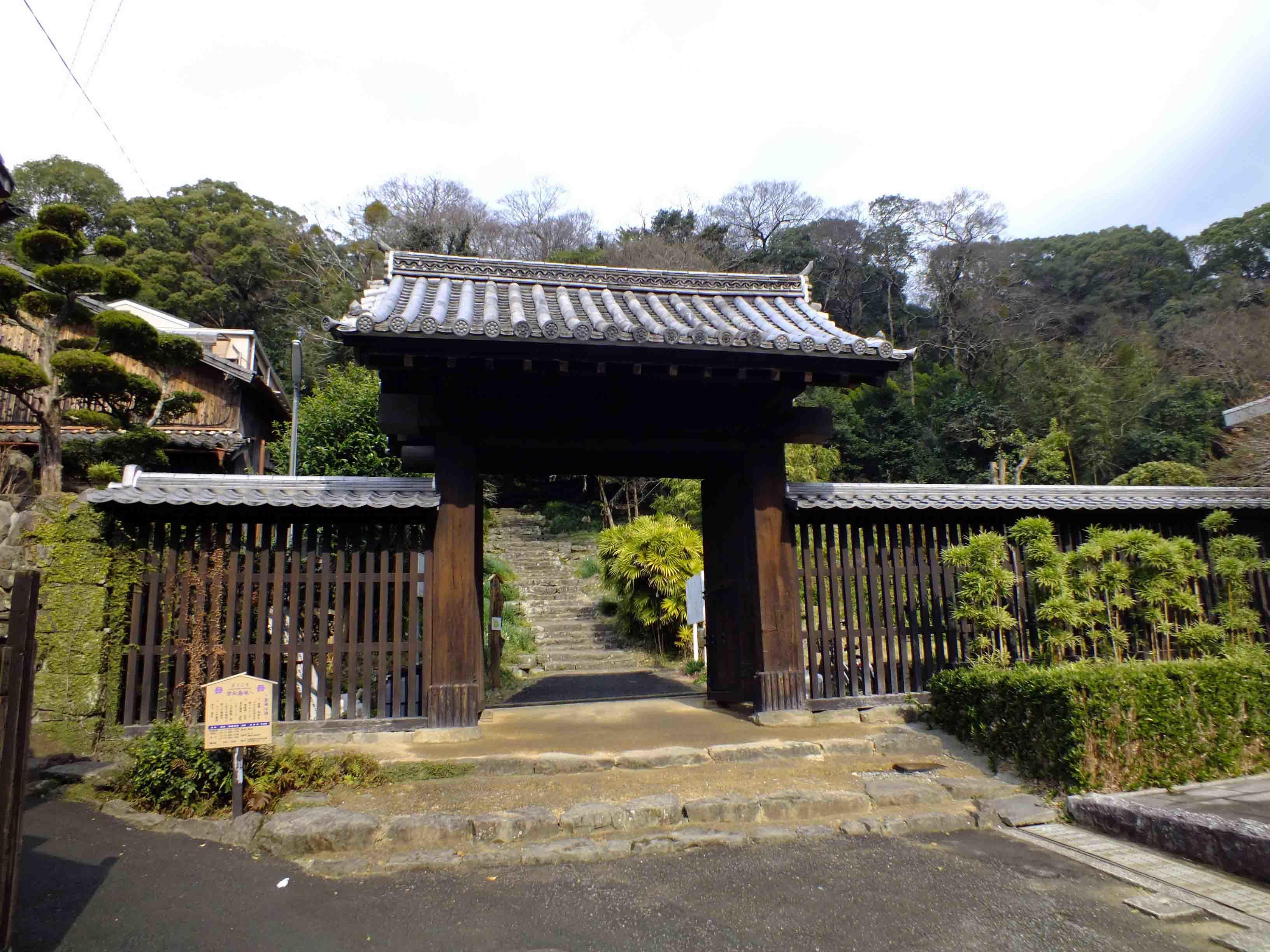 宇和島城 城門