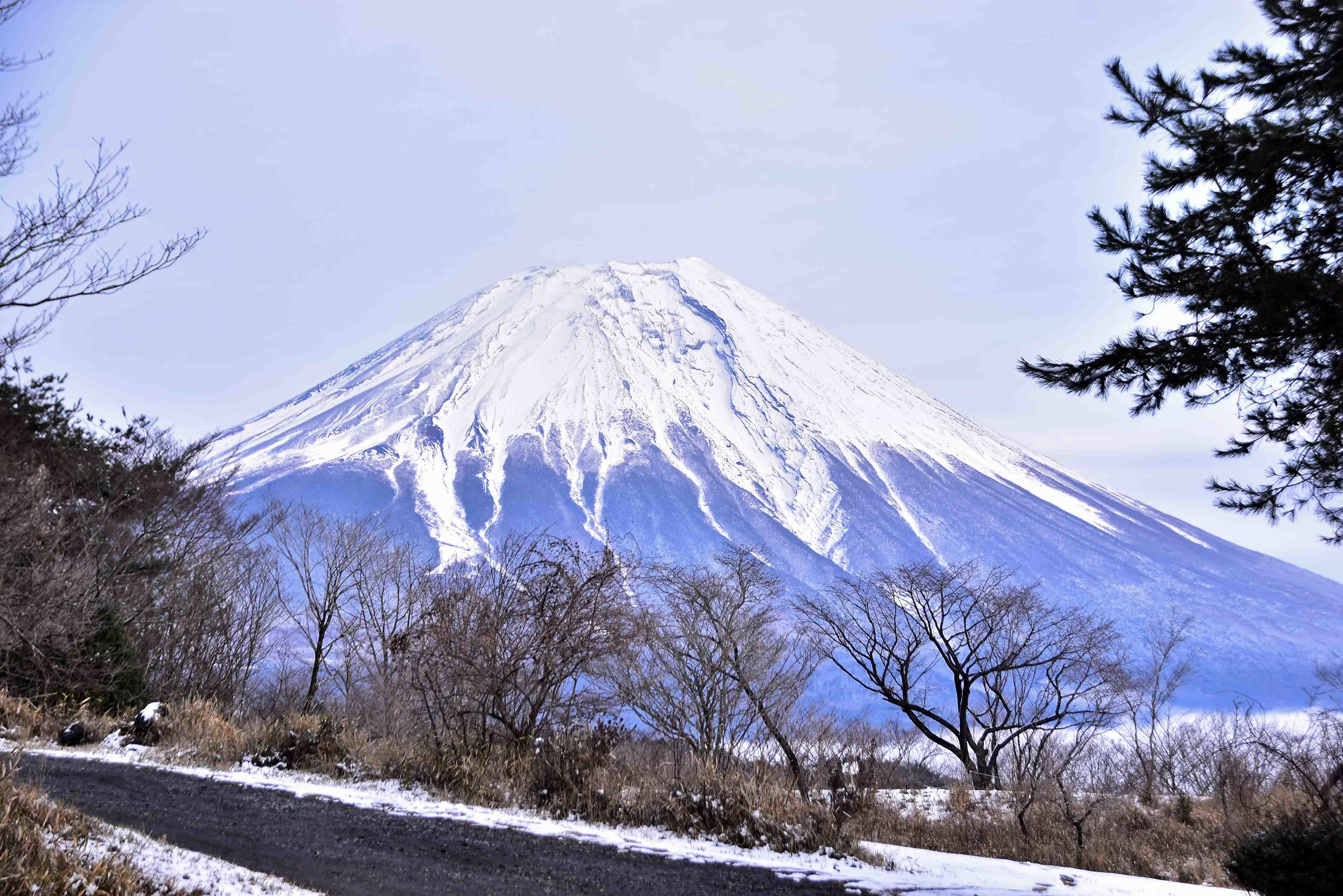 富士山夕刻