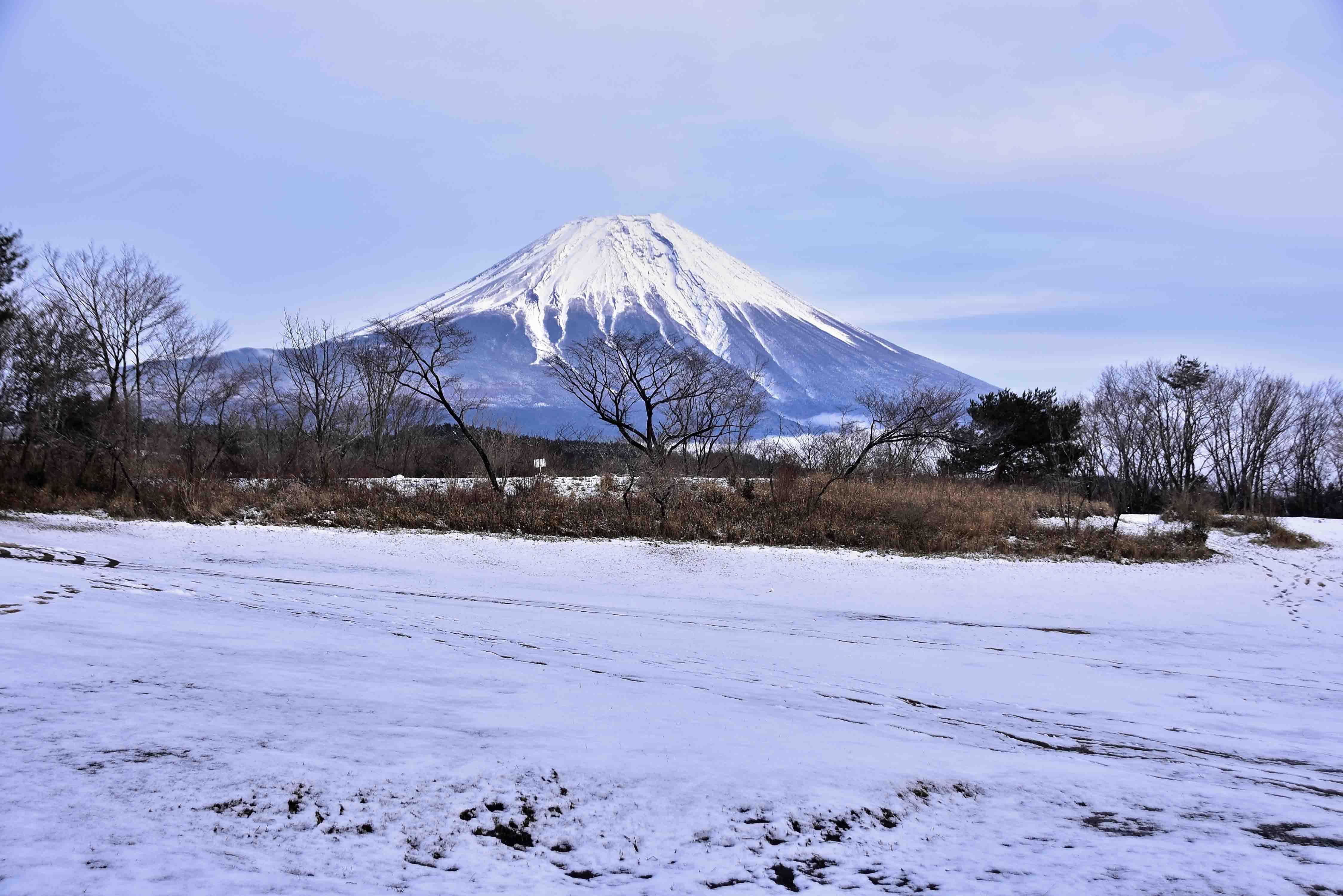 富士山夕刻2
