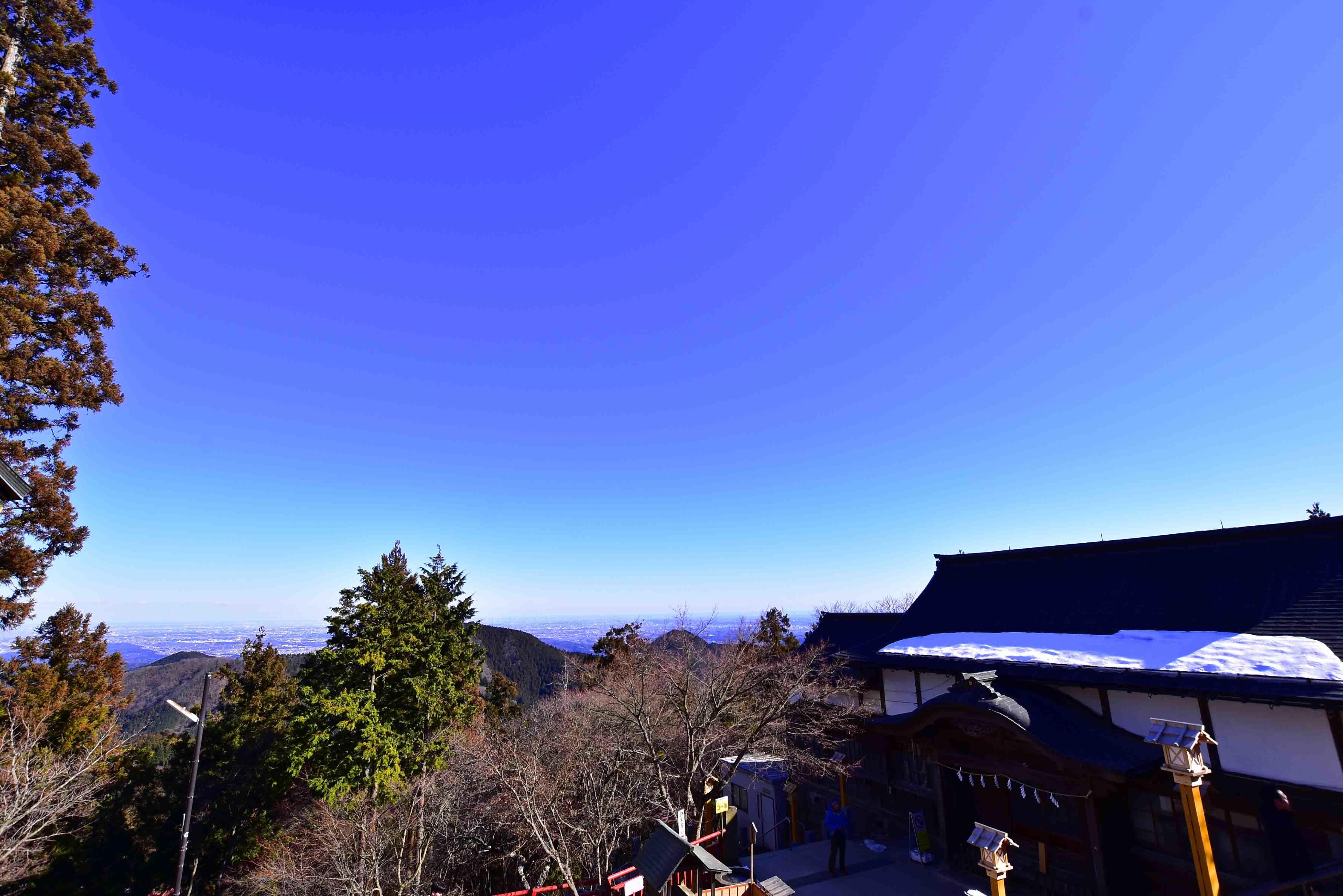 御嶽神社からの展望
