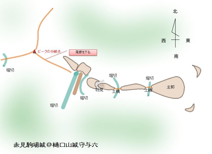 完成 赤見駒場城 栃木県