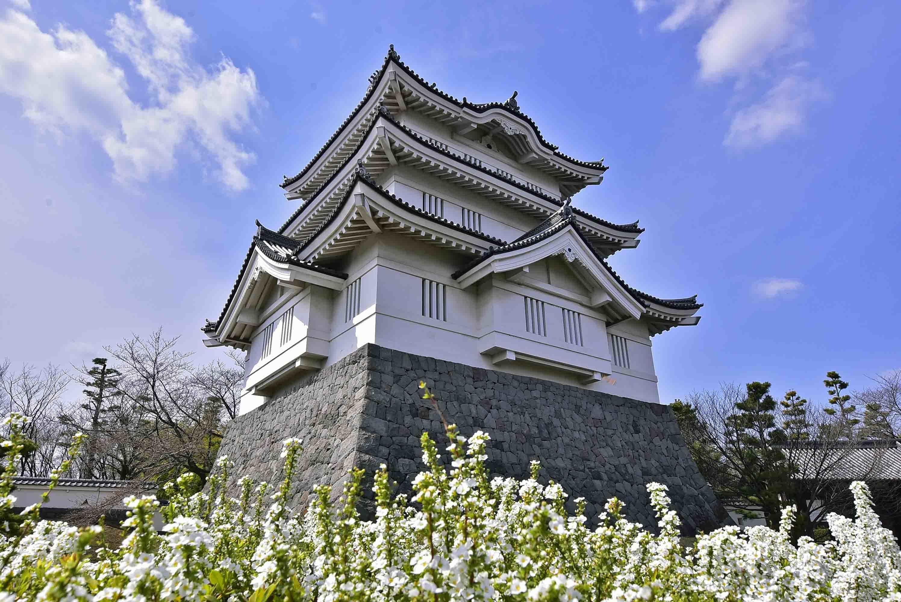 忍城 三階櫓 模擬