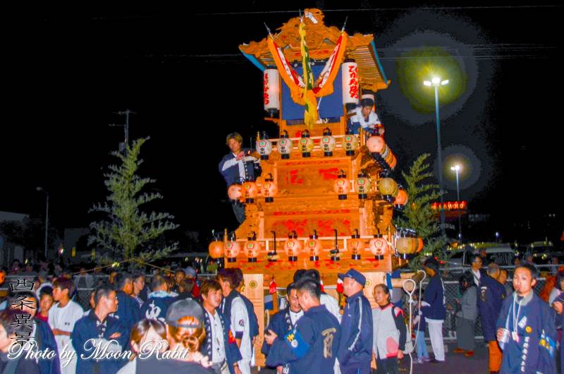 西条地区前夜祭 東町屋台(だんじり)