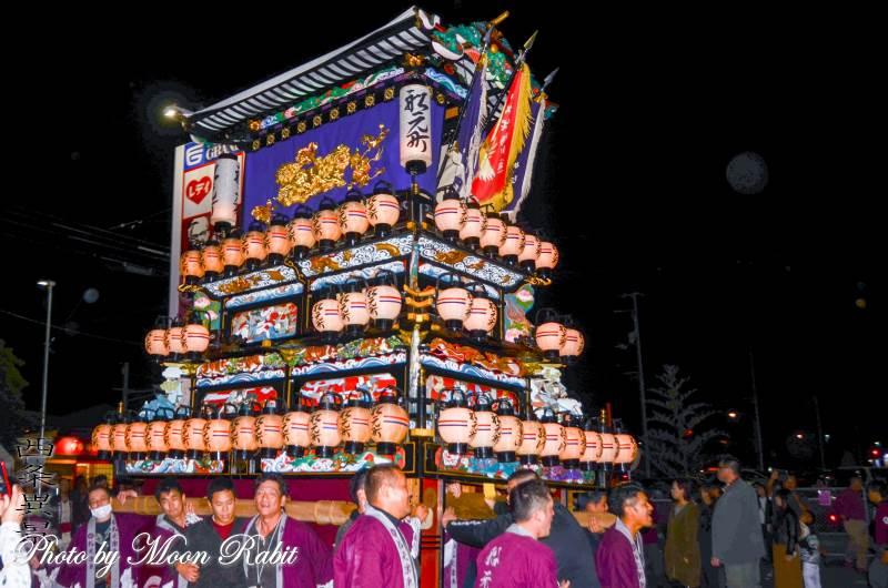 西条地区前夜祭 船元町屋台(だんじり)