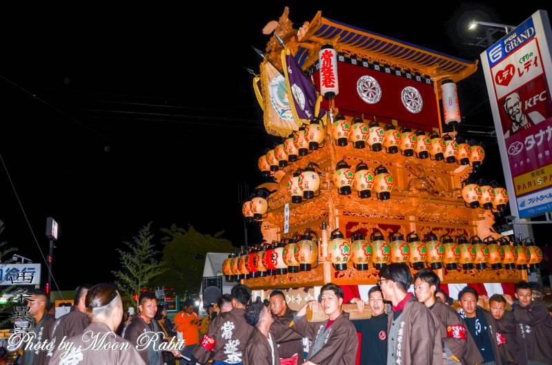 西条地区前夜祭 常盤巷屋台(だんじり)