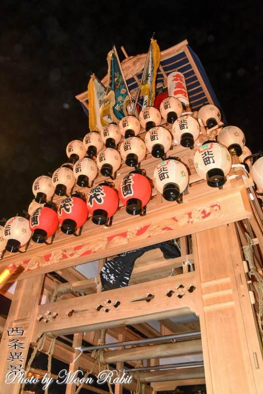 喜多町だんじり(屋台) お旅所2018