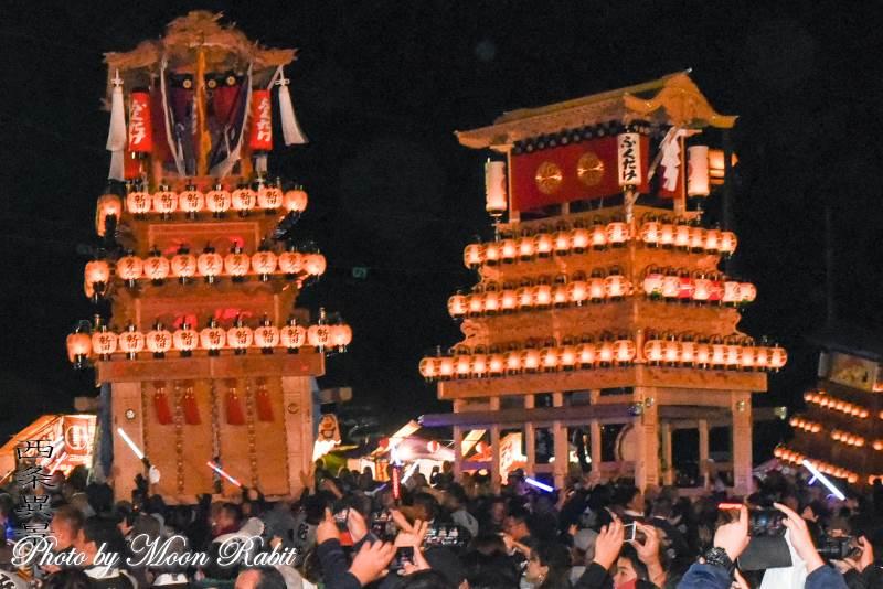 錦町だんじり(屋台) お旅所2018