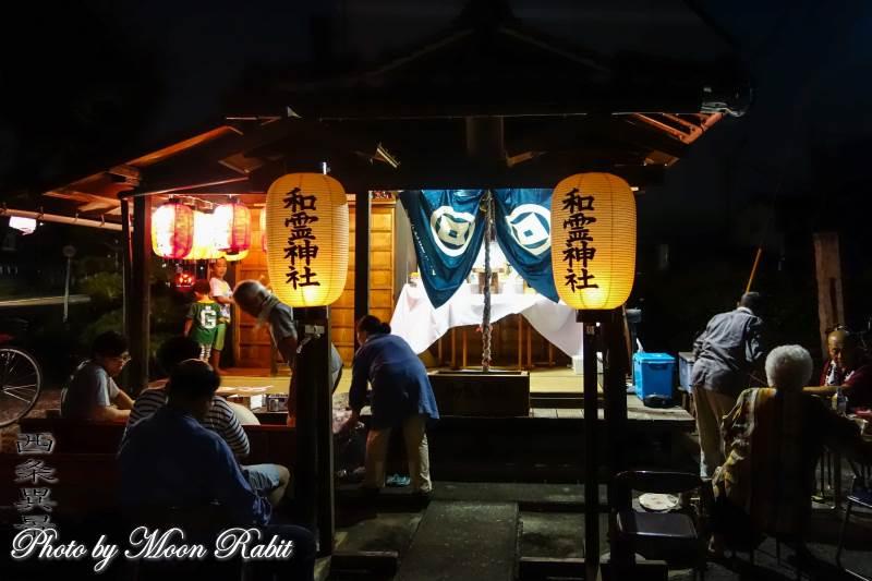 和霊神社夏祭り 愛媛県西条市新町