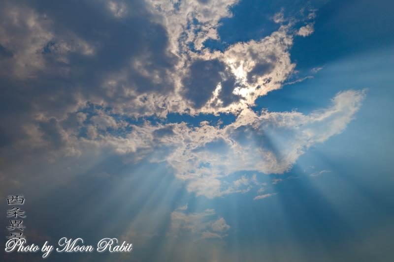 雲の表情 加茂川 愛媛県西条市