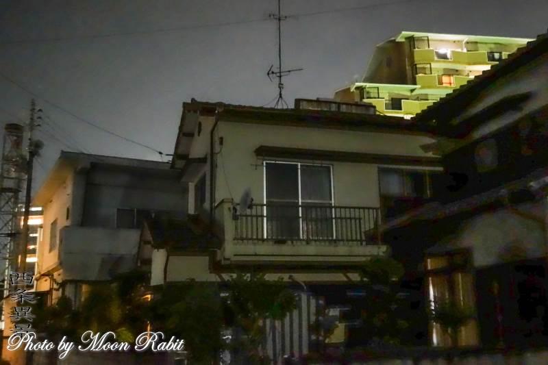 家並み 愛媛県西条市古屋敷