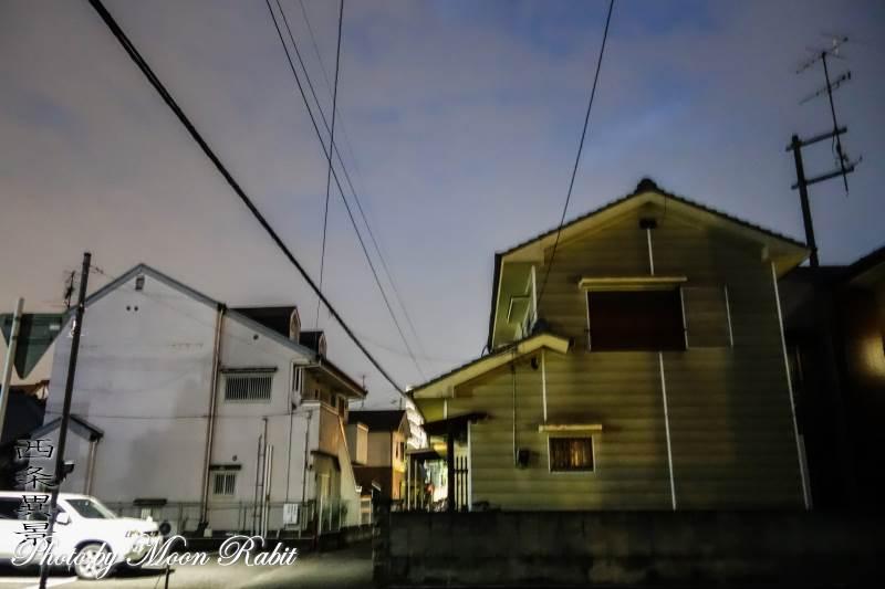 家並み 愛媛県西条市東新町