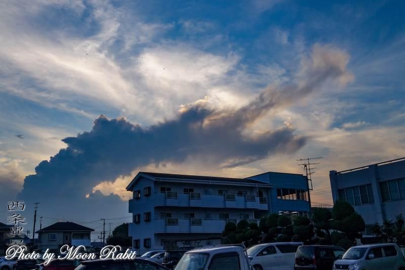 雲の表情 愛媛県西条市三本松