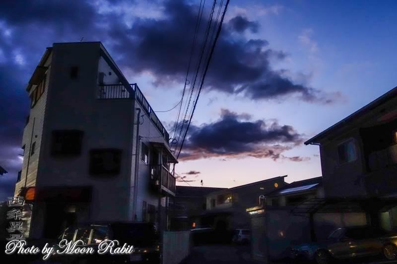 家並み 愛媛県西条市神拝