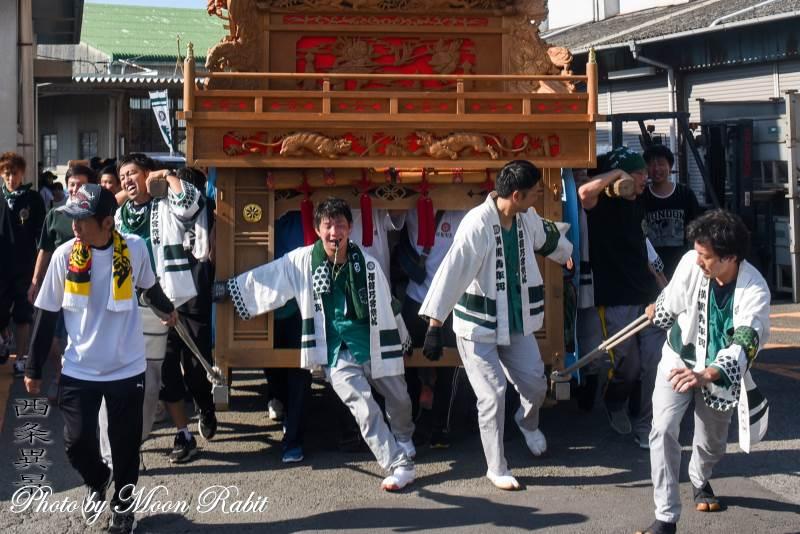 横黒屋台(だんじり) 祭り装束