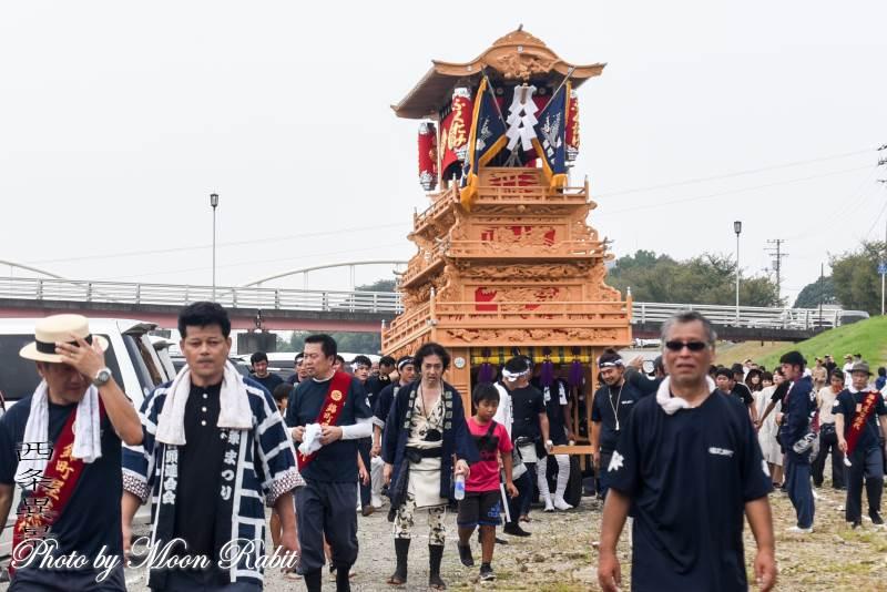 錦町だんじり(屋台) 伊勢音頭フェスティバル2019 愛媛県西条市