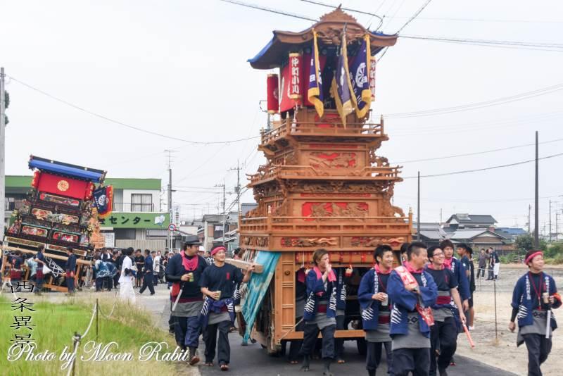 仲町小川だんじり(屋台) 伊勢音頭フェスティバル2019 愛媛県西条市