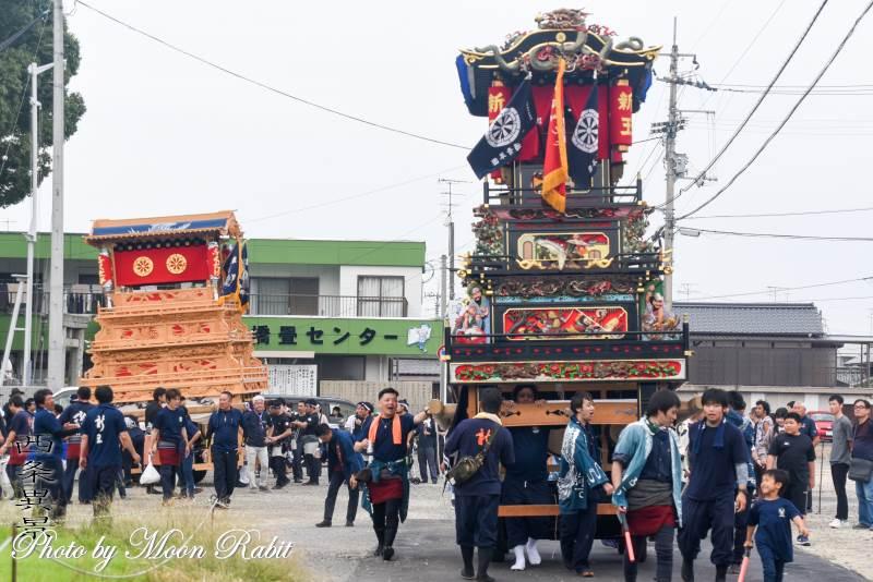 新玉通だんじり(屋台) 伊勢音頭フェスティバル2019 愛媛県西条市
