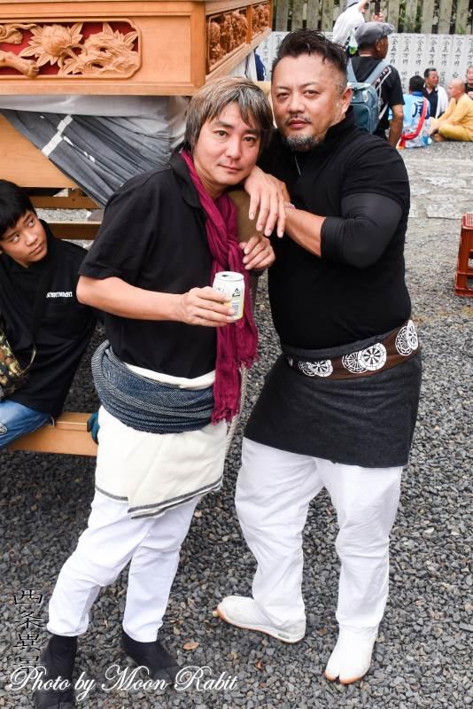 西町だんじり(屋台) 山王祭2019