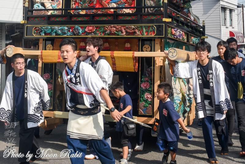 山道屋台(だんじり) 祭り装束