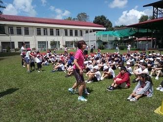 914地震の避難訓練