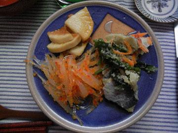 blog CP1 Lunch, Shirasu, Daikon Pickles & Kazunoko_DSCN7545-1.4.18.jpg