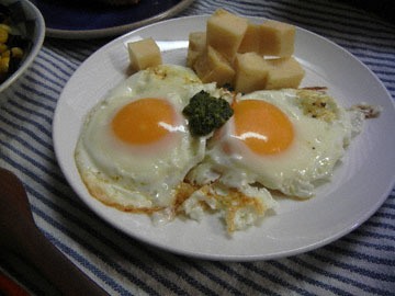 blog CP1 Dinner, Corn with Nori, Toast, Egg & Cheese_DSCN7555-1.6.18.jpg